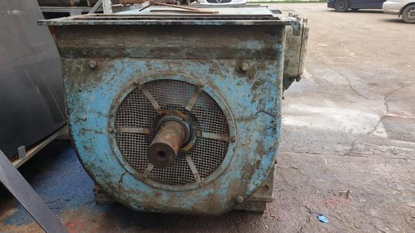 InterUtil - Reparatie Motor 500KW 6000V 1000rpm (inainte)