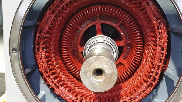 Reparatie motor 500KW 6000V 1000rpm