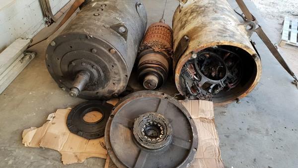 InterUtil - Reparatie Motor 54KW (inainte)