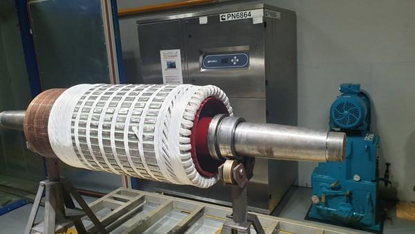 Reparatie motor 200KW