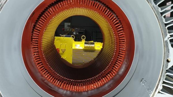 InterUtil - Reparatie Motor 220KW SIEMENS 500V 580rpm (dupa)