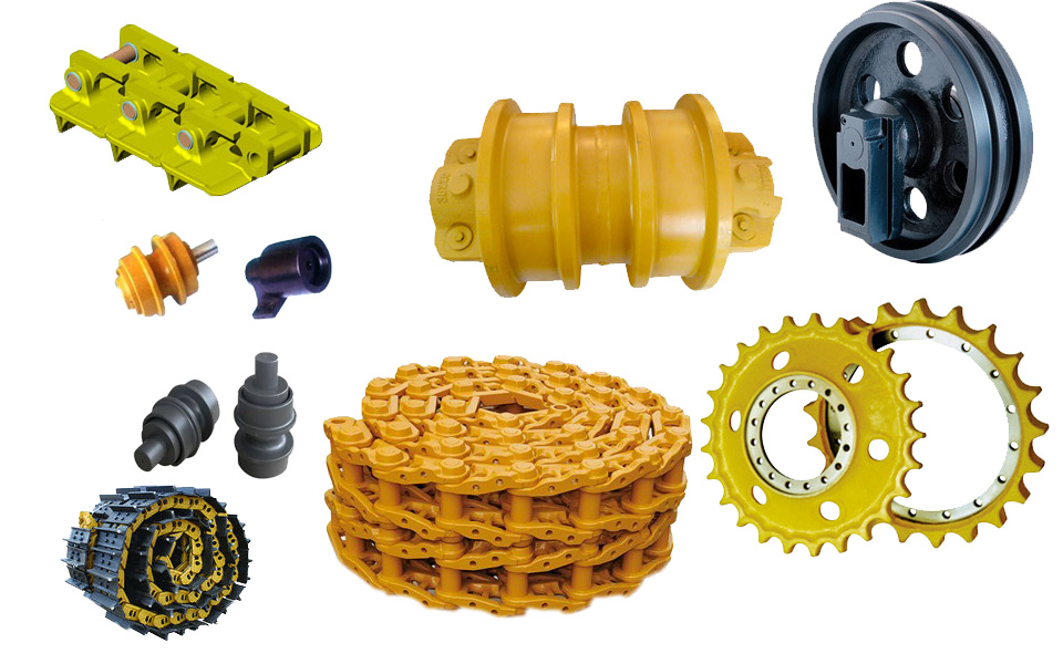 Spare parts for rolling components